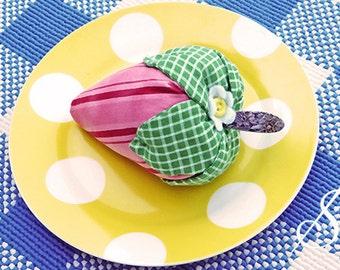 Shortcake for One: A Strawberry Pincushion Pattern