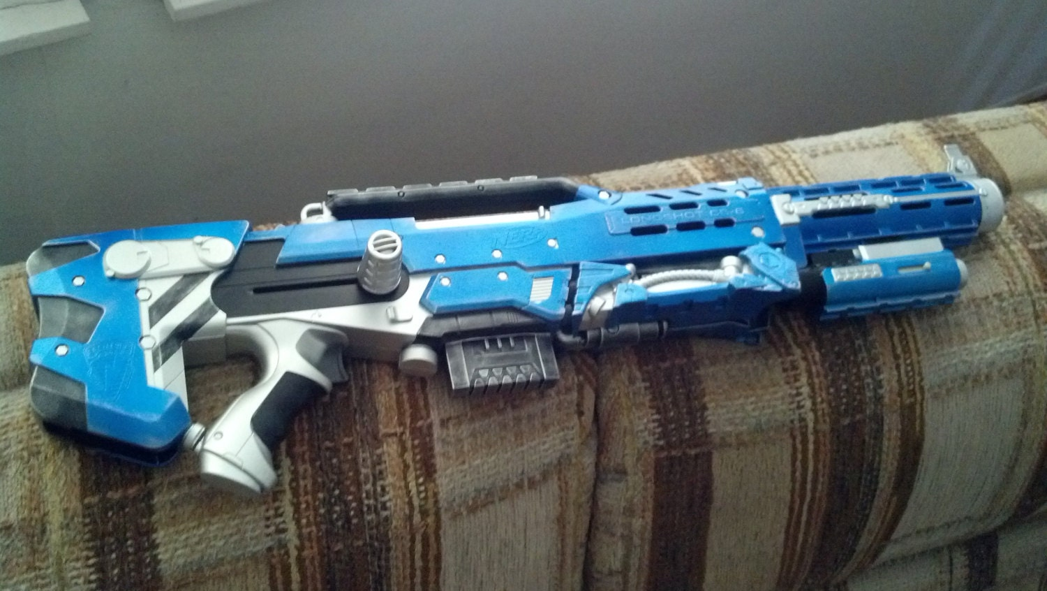 Custom Painted Nerf Gun Recon CS-6 For Cosplay, Dieselpunk, Steampunk  Comicon