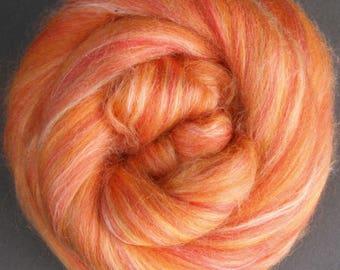 Silk/Merino blend Saffron