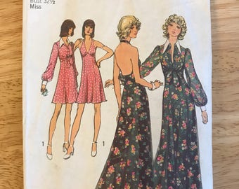 Dress Sewing Pattern Simplicity #5561, 1970's
