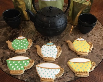 2 doz. Teacup and Teapot Cookies