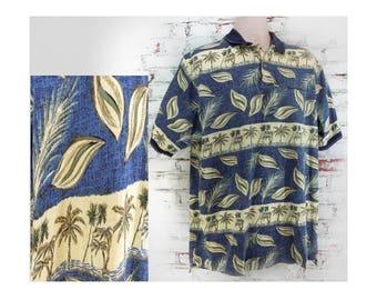 men's golf shirt - men's knit shirt, collared knit shirt, short sleeve shirt, polo shirt,  size XL (extra large),   # 257