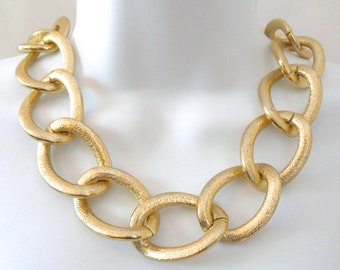 MAX Gold Link Necklace