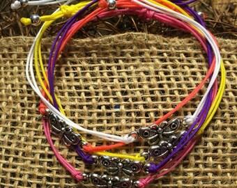 Cute Butterfly String Bracelets