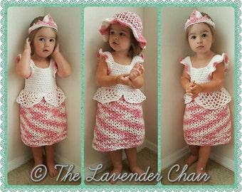 Valerie's Princess Dress Crochet Pattern *PDF DOWNLOAD ONLY* Instant Download