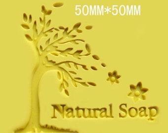 Tree Soap Stamp Natural Soap Stamp Handmade Soap Stamp