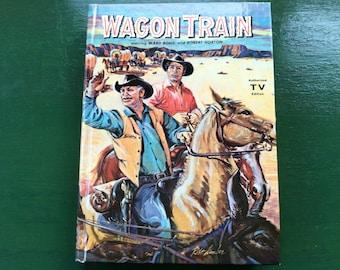 Whitman book of Wagon Train TV show starring Ward Bond and Robert Horton 1959