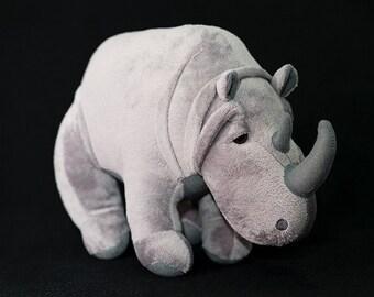 Rhino Plush Toy