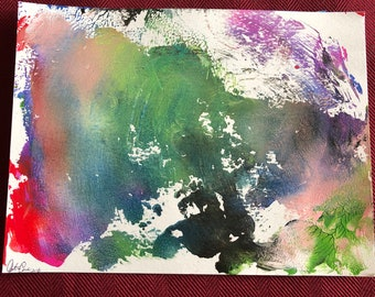 Abstract Acrylic Painting 5