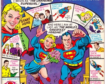 Action Comics 360, Key, Supergirl Origin, Giant Superman comic, Legion, LSH, Silver Age, Man of Steel book. 1968 DC Comics in FN+ (6.5)