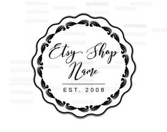 Business Logo - Black and White Logo - Shop Logo - Etsy Branding - Etsy Store Branding - Shop Icon -  Etsy Shop Icon - Logo Style 308