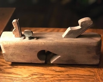 Rare Double Bladed Antique Woodworking Tool/Plane