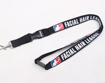 Facial Hair League Lanyard - Show your FHL support!
