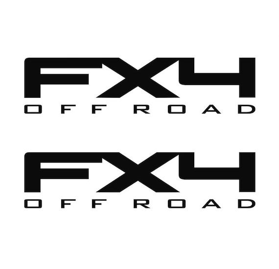ford f150 f250 fx4 off road decals vinyl truck sticker decal