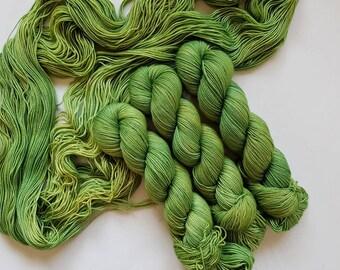 Cursed- Hand Dyed Tonal Yarn, Superwash Merino Nylon 2 Ply twist