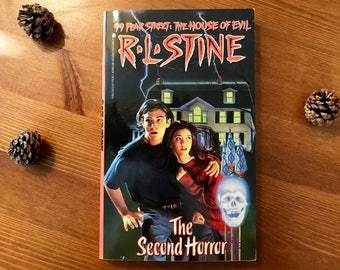 "RL Stine ""The Second Horror"" 99 Fear Street Series 1994"