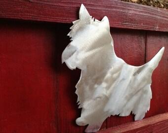 Yorkie, Yorkshire Terrier, Yorkie  Dog, Aluminum, Indoor or Outdoor, Garden Stake, Garden Art, Wall Hanging
