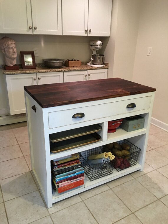 Butcher Block Breakfast Bar Kitchen : Kitchen Island Butcher Block Walnut Breakfast Bar Kitchen
