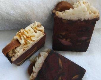 Chocolate Banana Handmade Artisan Soap