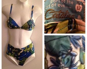 Vintage Catalina Bikini SwimSuit