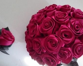 Bouquet and corsages,Bridal bouquet, rose bouquet, wedding bouquet, brides bouquet