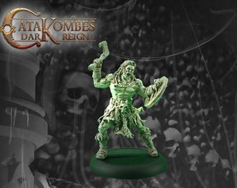 "Figurine héros barbare : ""Torgils sombre loup"""