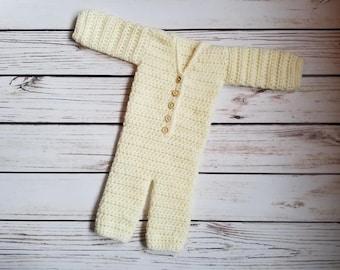 Crochet Sleeper Pattern, Newborn Pattern, Newborn Sleeper Pattern, Crochet Pattern, Newborn Prop Pattern
