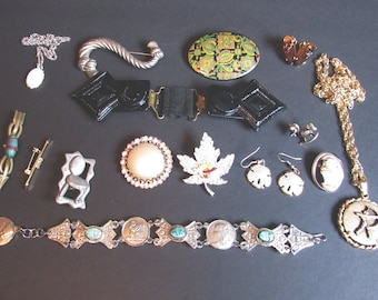 Jewelry Collection, Destash Lot, Vintage Costume Jewelry / Jewellery