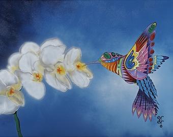 NURTURING HUMMINGBIRD I.