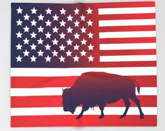 American Flag Blanket USA flag Blanket Flag art Military Blanket Buffalo Blanket Independence day Blanket Red Blanket Patriot Blanket