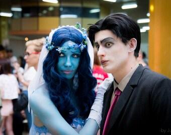 Victor Van Dort Corpse Bride cosplay costume suit role play cartoon