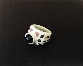 Porcelain Ring 8US