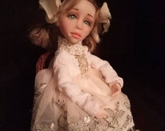 Collectible movable doll Shine