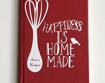 mothers day gift from son recipe book personalized recipe journal