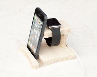Apple Watch stand iPhone dock Watch dock bedside IPhone bedside Apple gift Docking Stations Stands 012 ipad Wooden stand Apple Watch