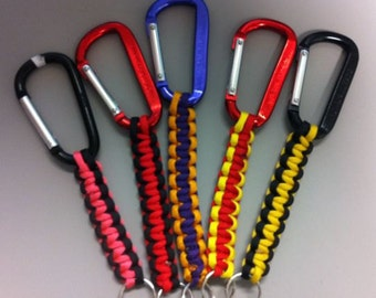 Paracord/Carabiner Keychain (8.00 inch)