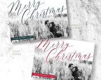 Whimsy Christmas Holiday Photo Cards