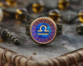 Moitie bague, bague de balance, les bijoux du zodiaque balance, balance constellation de la balance, signe du zodiaque, astrologie bague,