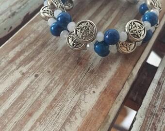 Celtic Coiled Bracelet