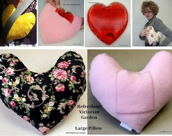 Mastectomy Pillow Breast Cancer pillow with pocket Victorian Garden