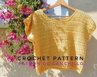 The Etna Top Crochet Pattern