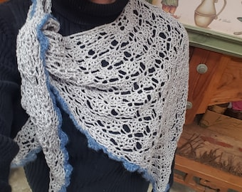 Silver-Gray Shawl