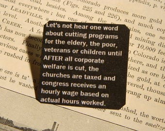 Peace Jewelry Solidarity Lets not hear one word about cutting programs until.......