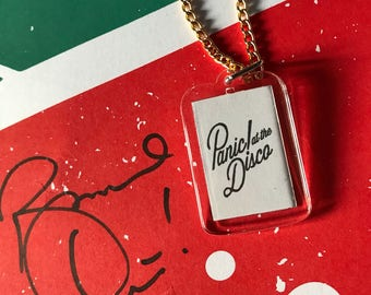 Panic! at the Disco Keychain necklaces