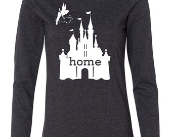 Disney Is My Home Long Sleeve T-Shirt aFWLO9