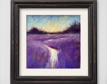 "Original Pastel Painting ""Regrets"""
