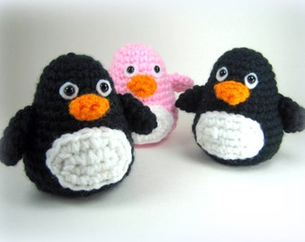 Little Penguin - Amigurumi Crochet Pattern - PDF File Direct Download