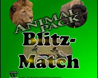 New Children's Game Blitz-Match Animal Pack