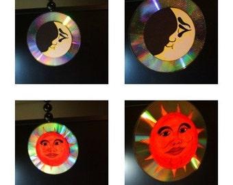 Sun and Moon Suncatcher