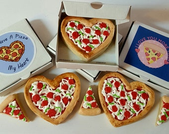 """5 """"You Have A Pizza My Heart"""" Cookies"""